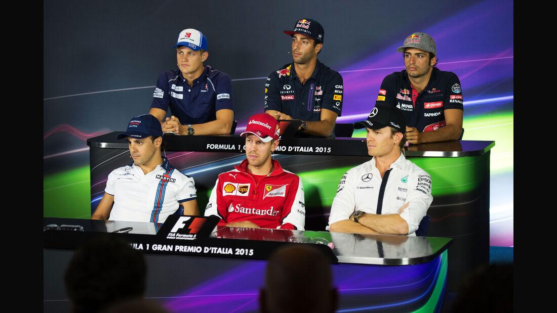 FIA-PK - GP Italien - Monza - Donnerstag - 3.9.2015