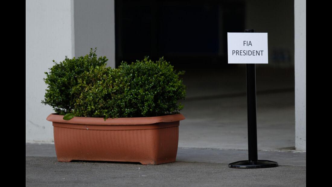 FIA Präsident GP Türkei 2011