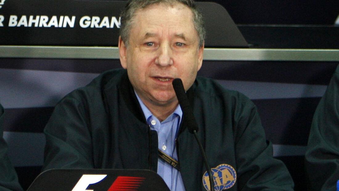 FIA-Präsident Jean Todt