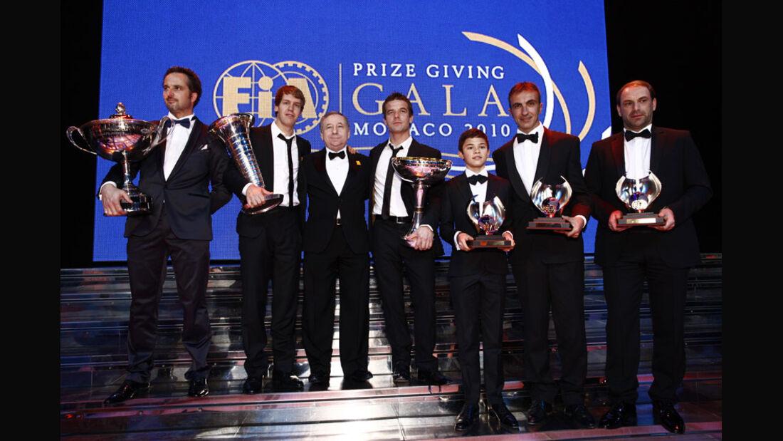 FIA Preisverleihung, Jean Todt, FIA Worldchampions