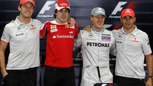 FIA-Pressekonferenz Bahrain