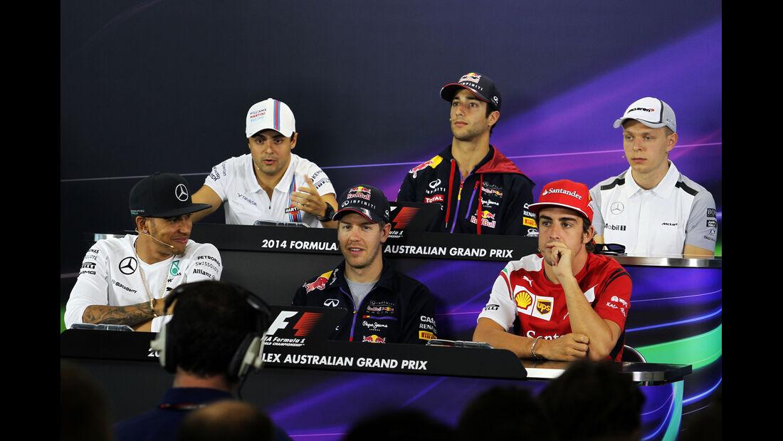 FIA-Pressekonferenz - Formel 1 - GP Australien - Melbourne - 13. März 2014