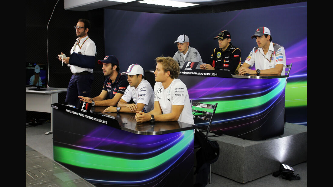 FIA-Pressekonferenz - Formel 1 - GP Brasilien - 6. November 2014