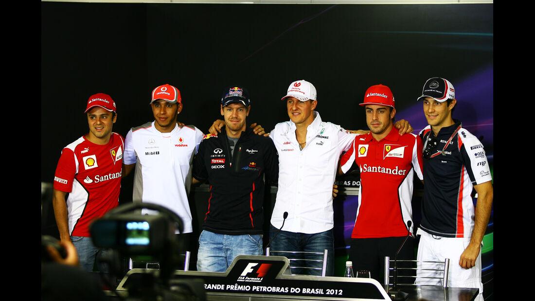 FIA Pressekonferenz - Formel 1 - GP Brasilien - Sao Paulo - 22. November 2012