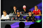 FIA-Pressekonferenz - Formel 1 - GP Indien - Delhi - 24. Oktober 2013