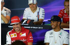 FIA-Pressekonferenz - Formel 1 - GP Italien - 4. September 2014