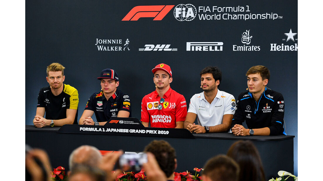 FIA-Pressekonferenz - Formel 1 - GP Japan - Suzuka - 10. Oktober 2019