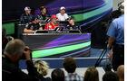 FIA-Pressekonferenz - Formel 1 - GP Korea - 11. Oktober 2012
