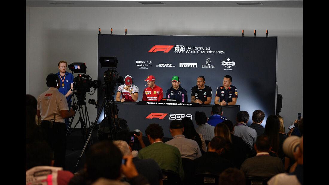 FIA-Pressekonferenz - Formel 1 - GP Mexiko - 24. Oktober 2019