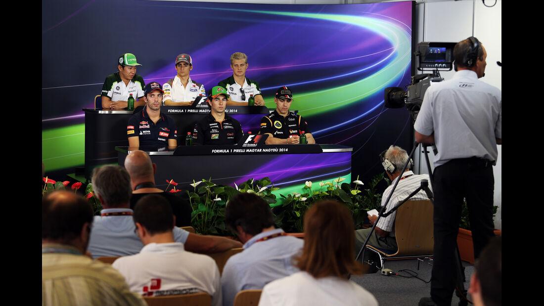 FIA-Pressekonferenz - Formel 1 - GP Ungarn - 24. Juli 2014
