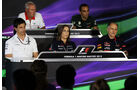 FIA Pressekonferenz - Formel 1 - GP Ungarn - 26. Juli 2013