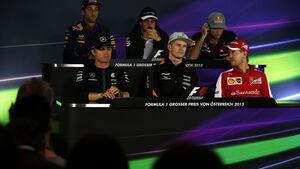 FIA Pressekonferenz - GP Österreich - Formel 1 - Donnerstag - 18.6.2015