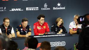 FIA - Pressekonferenz - GP Ungarn 2019 - Budapest