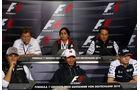 FIA Pressekonferenz Hockenheim
