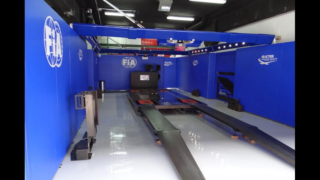 FIA Scrutineering - Formel 1 - GP Spanien - 9. Mai 2013