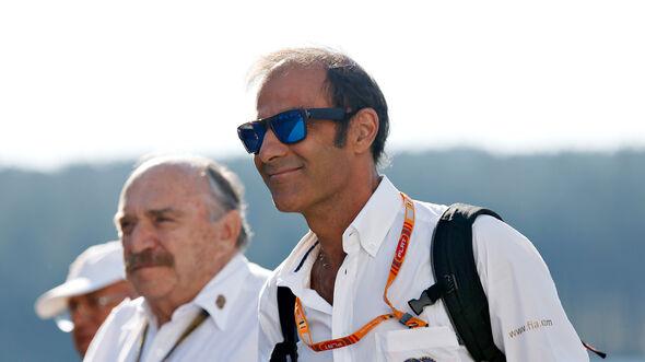 FIA-Steward Emmanuele Pirro