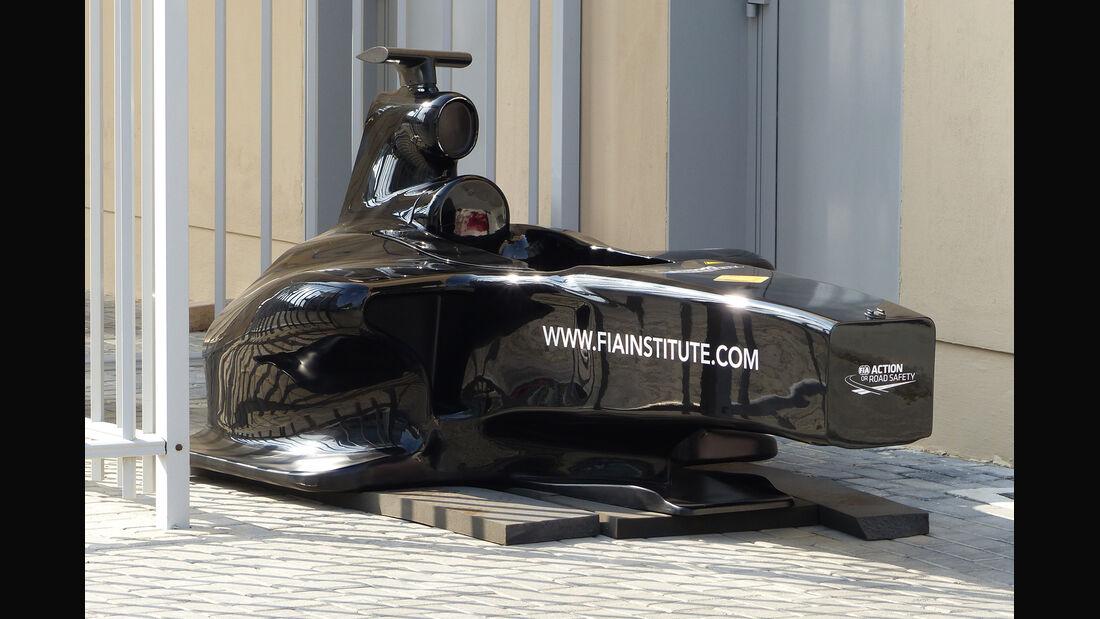 FIA Test-Dummy - Formel 1 - GP Abu Dhabi - 20. November 2014