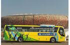 FIFA, Fussball WM, 2010, Busse, Hyundai, Brasilien
