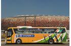 FIFA, Fussball WM, 2010, Busse, Hyundai, Elfenbeinküste