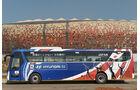 FIFA, Fussball WM, 2010, Busse, Hyundai, Japan