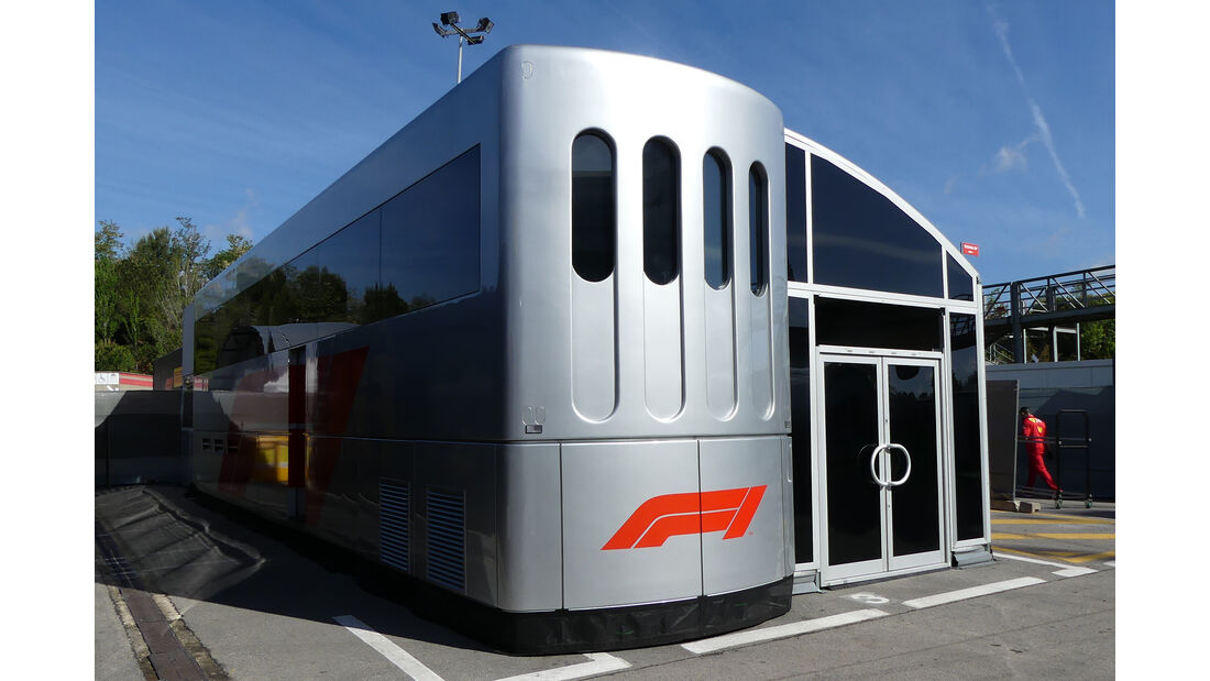 FOM - Motorhomes - Formel 1 - GP Spanien 2019