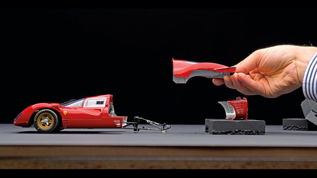 Fabian Oefner, Ferrari 330 P4, Einzelaufnahme