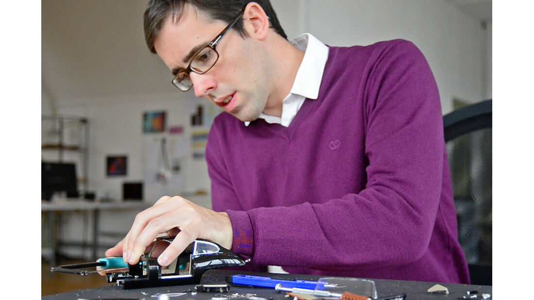 Fabian Oefner, Vorbereitung