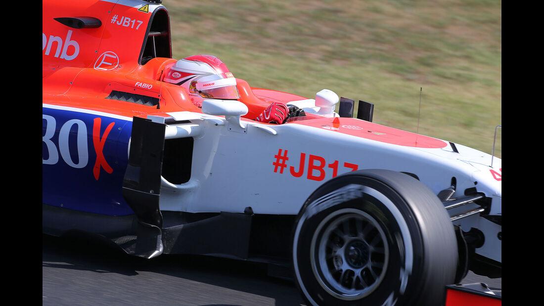 Fabio Leimer - Manor F1 - GP Ungarn - Budapest - Freitag - 24.7.2015
