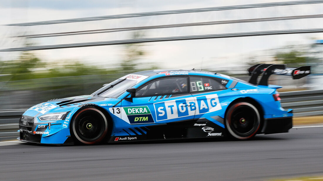 Fabio Scherer - Audi RS 5 - DTM - Testfahrten - Nürburgring - 8. Juni 2020