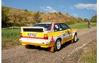 Fabrizia Pons, Audi Quattro, Heckansicht