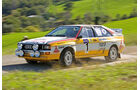 Fabrizia Pons, Audi Quattro, Seitenansicht