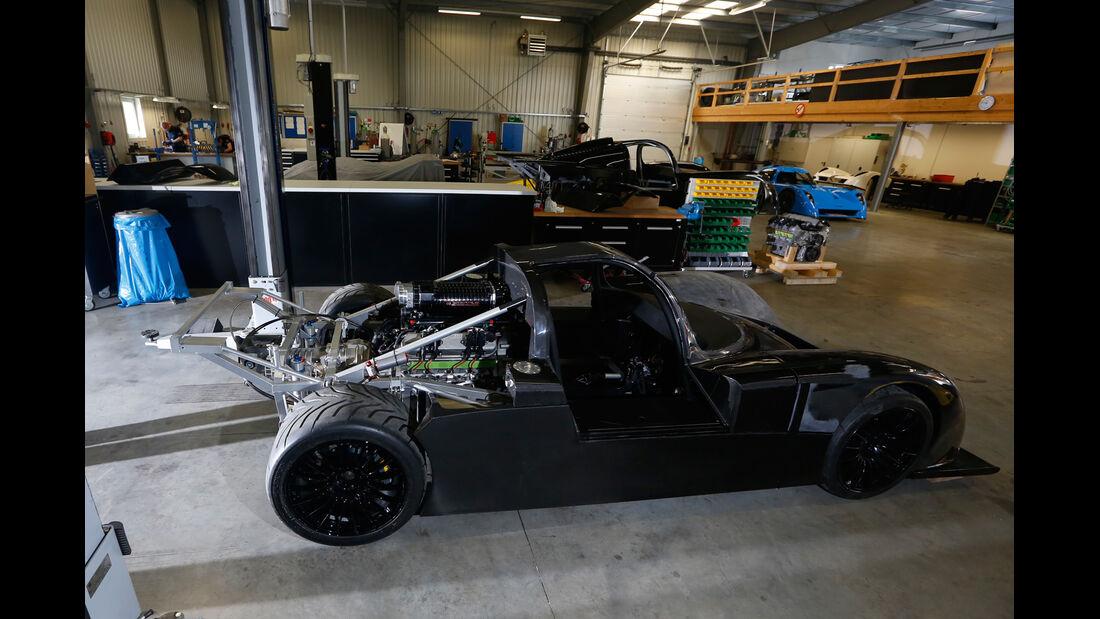 Fahlke Larea GT1 S10, Chassis
