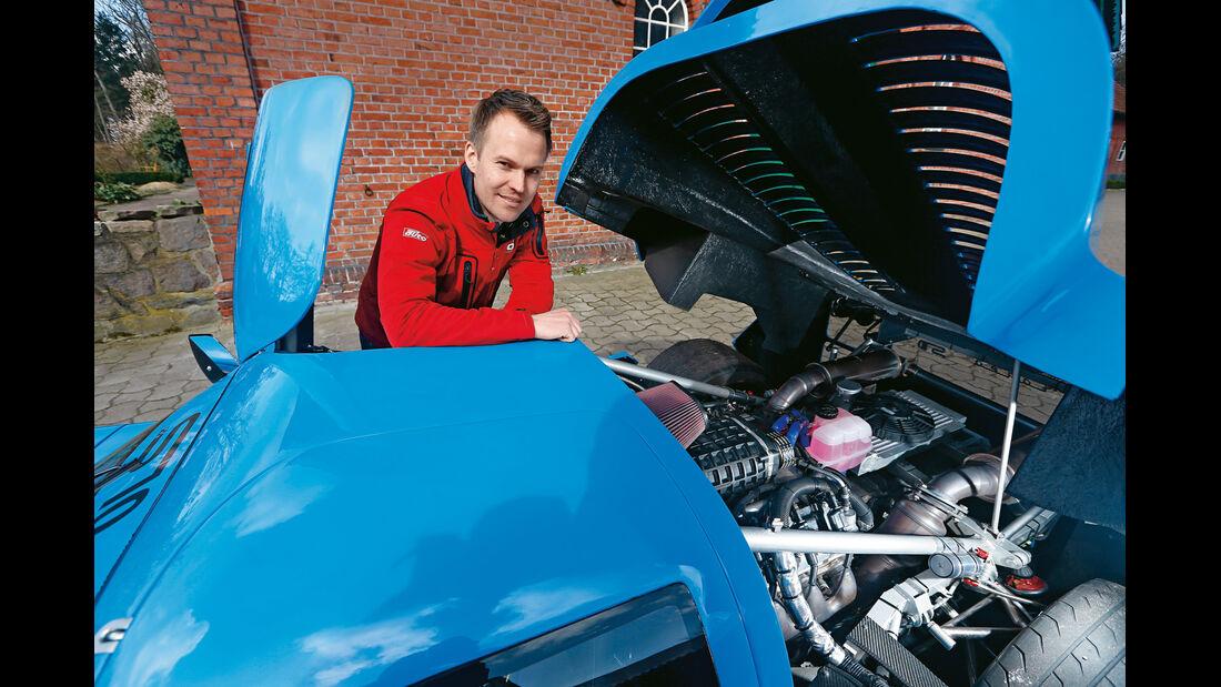 Fahlke Larea GT1 S10, Christian Gebhardt, Motor
