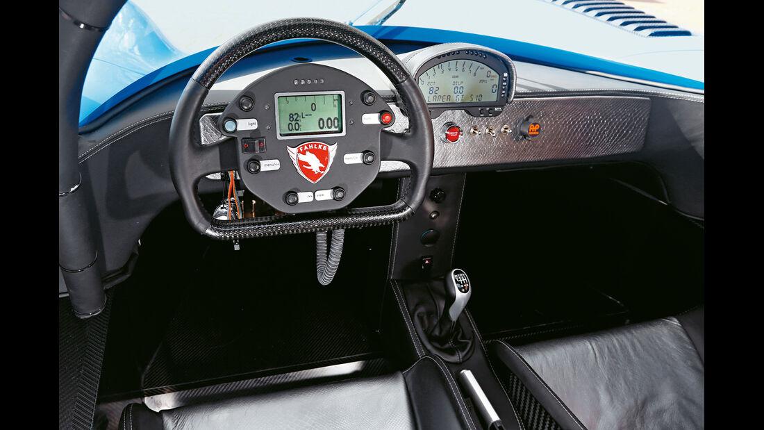 Fahlke Larea GT1 S10, Cockpit