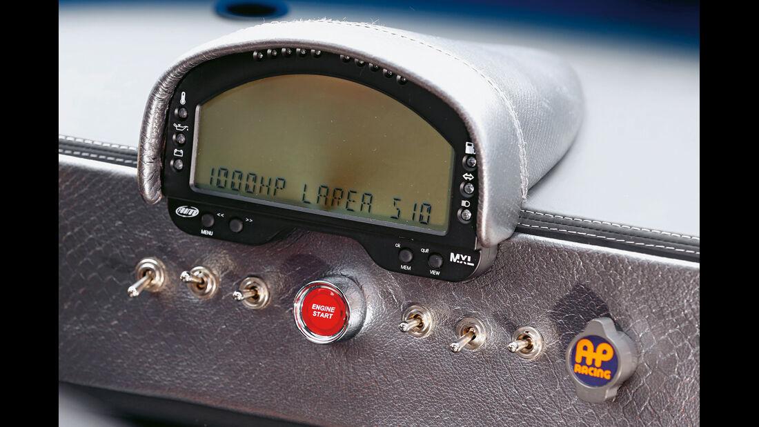 Fahlke Larea GT1 S10, Display