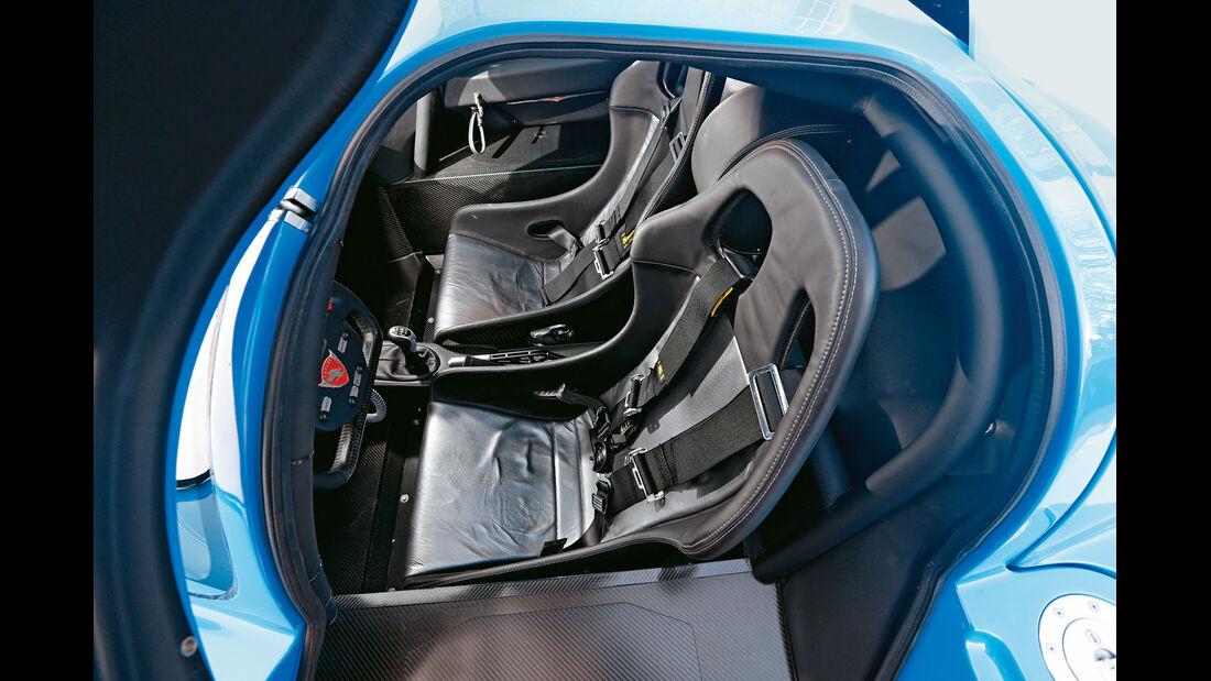 Fahlke Larea GT1 S10, Fahrersitz