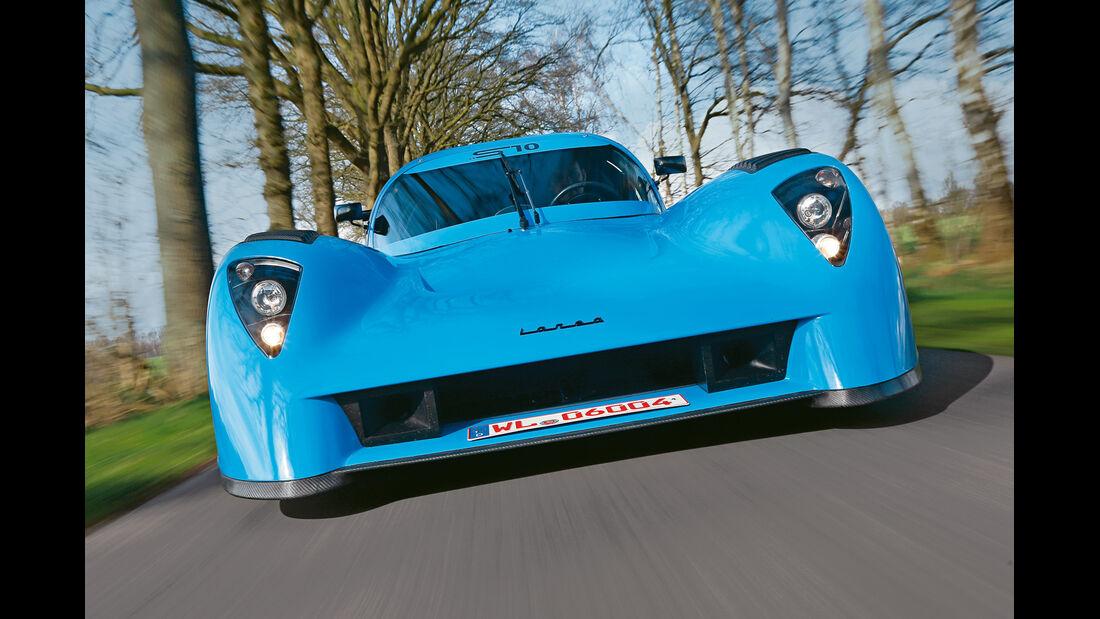 Fahlke Larea GT1 S10, Frontansicht