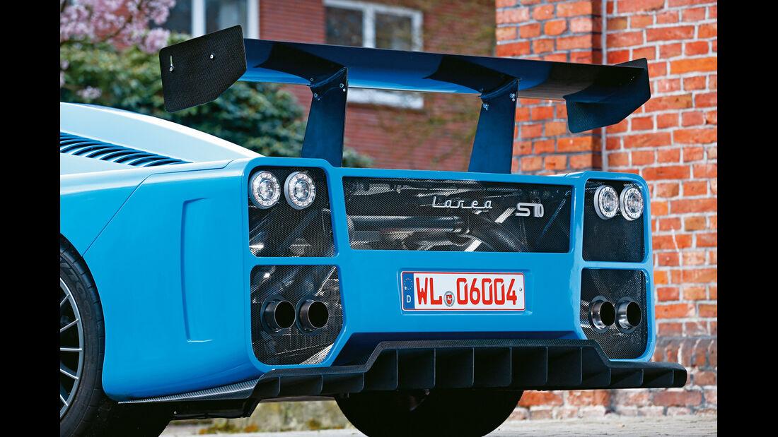 Fahlke Larea GT1 S10, Heckspoiler