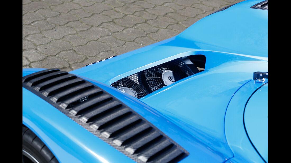 Fahlke Larea GT1 S10, Motorabdeckung