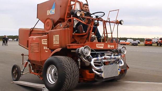 Fahr M44 Mähdrescher Cadillac V8 Tuning