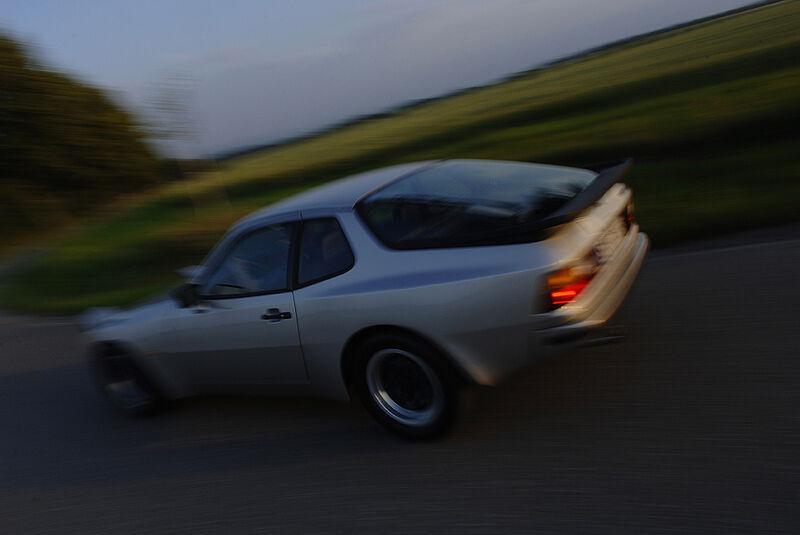 Fahraufnahme Porsche 944