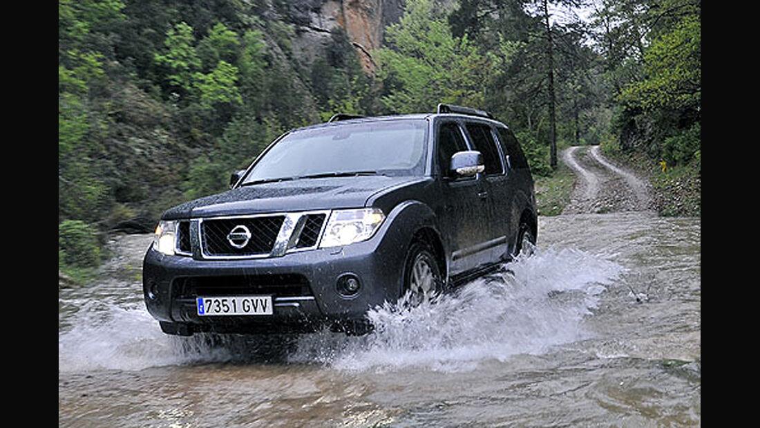 Fahrbericht Nissan Pathfinder 2010