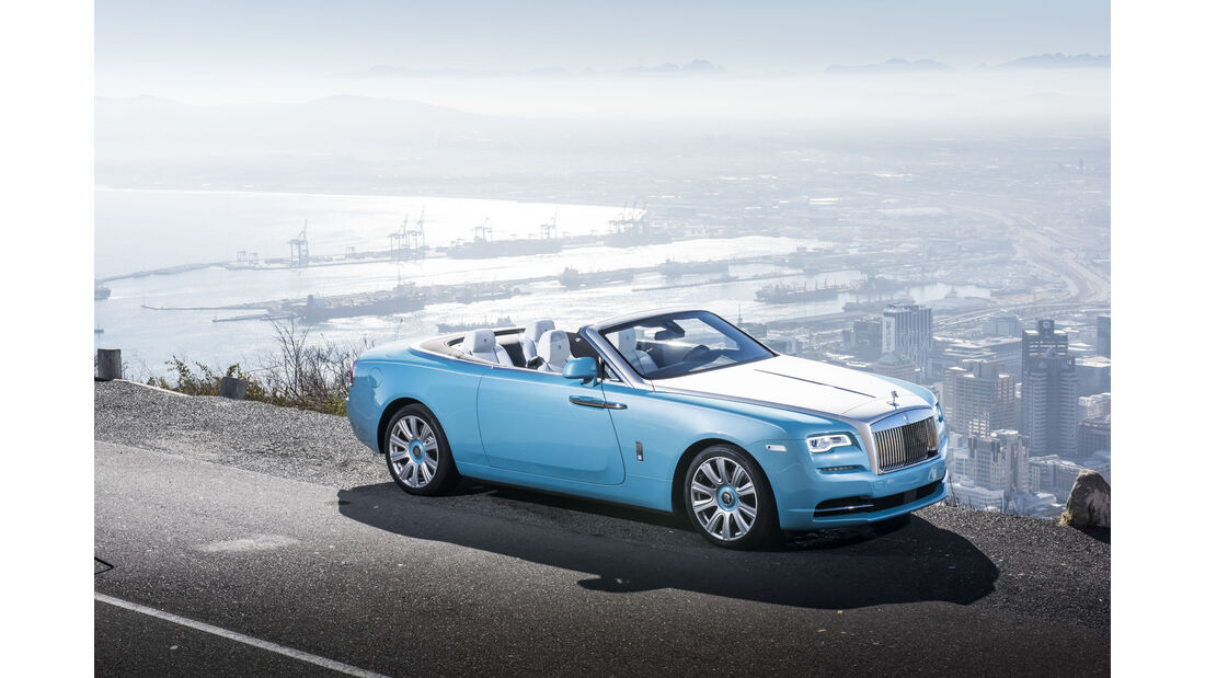 Fahrbericht Rolls-Royce Dawn, Cabrio, V12, 04/2016