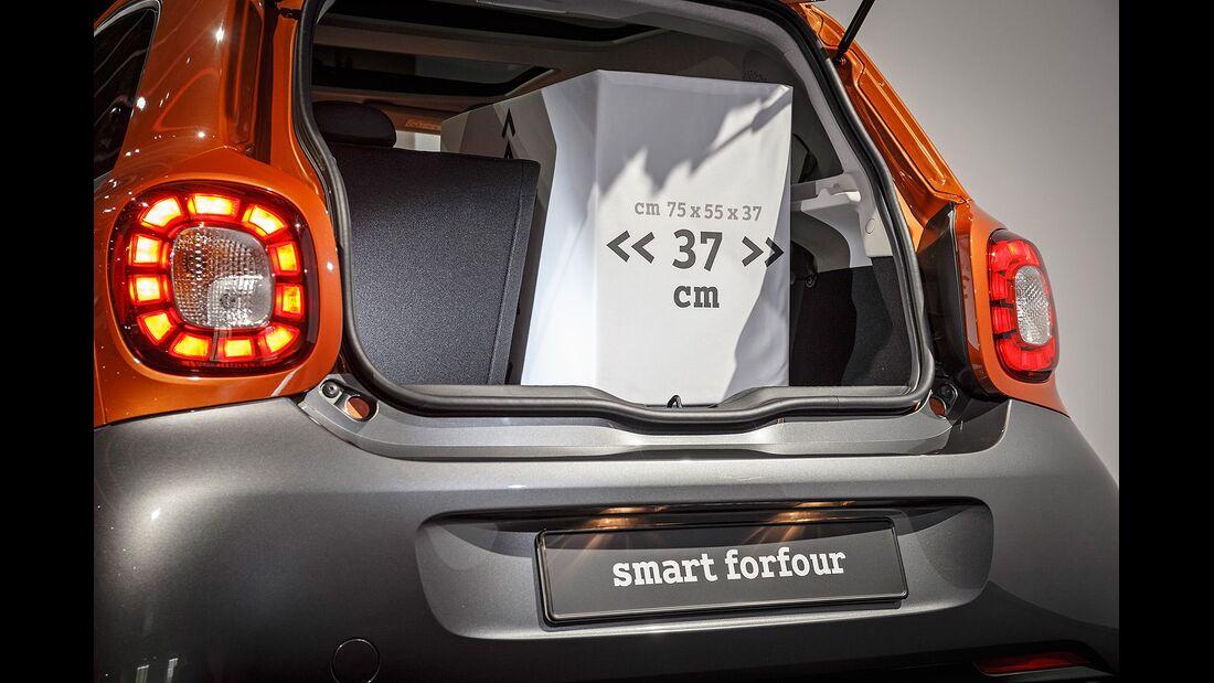 Fahrbericht Smart Forfour