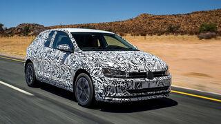 Fahrbericht VW Polo Erlkönig Katemann