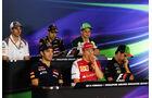 Fahrer-Pressekonferenz - Formel 1 - GP Singapur - 18. September 2014