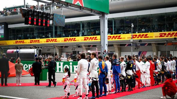 Fahrer - Startaufstellung - GP China 2019 - Shanghai