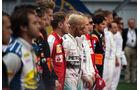 Fahrer - Startaufstellung - GP Russland 2015 - Sochi - Rennen
