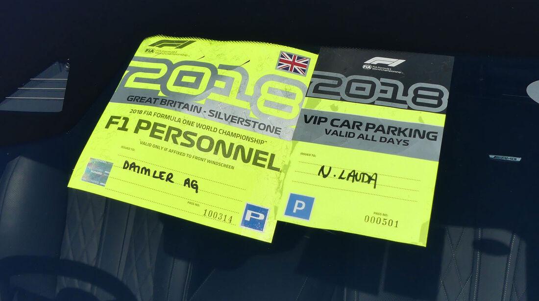 Fahrerautos - GP England 2018 - Silverstone