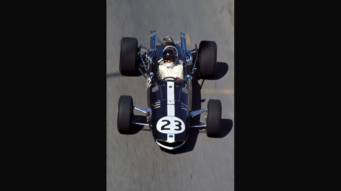 Fahrerbriefing - GP Mexiko 1966 - Formel 1